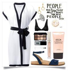 """Short sleeve kimonos"" by camry-brynn ❤ liked on Polyvore featuring Fleur du Mal, STELLA McCARTNEY, Stila, Marni, Smashbox, JINsoon, philosophy and Avenue"