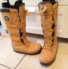 Timberland Mukluk Waterproof Womans Knee High Boots Uk Size 6 | eBay