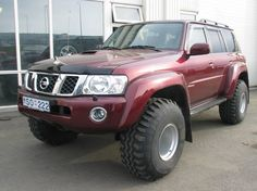 Rusian Patrol Y61 Off Road Wagon, Best 4x4 Cars, Nissan Patrol Y61, Nissan 4x4, Patrol Gr, Mitsubishi Pajero, Offroad, Vehicles, Life