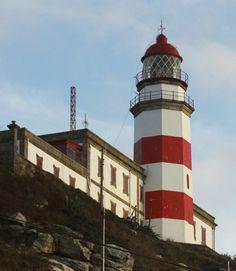 Cabo Silleiro Light. Bayona, Pontevedra.province. Galicia, Spain.
