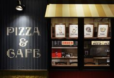 Pizza Napoletano Café by BaNANA OFFICE, Tokyo - Japan