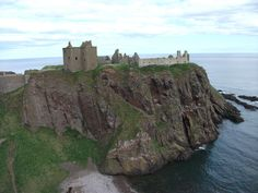 Dunnottar Castle, Scotland. Also known as Keith Castle. Used to belong to my ancestors.