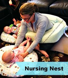 The Stay-at-Home-Mom Survival Guide: 9+ Tips for Breastfeeding (Twins or Single Babies)