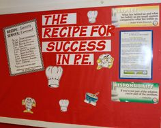 mental health bulletin board ideas | Physical Education Bulletin Board Archives