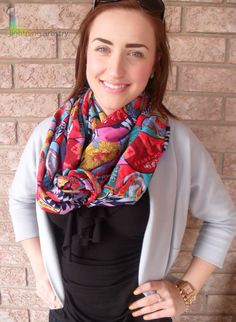 Spring 2013    https://www.etsy.com/listing/127966177/infinity-scarf-multi-coloured-crazy?ref=v1_other_1