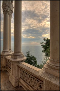 Miramare Castle, Bay of Grignano, Trieste, Friuli-Venezia Giulia region of Italy. Just outside of Trieste, Italy - my mother's hometown. Beige Aesthetic, Aesthetic Boy, Summer Aesthetic, Trieste, Travel Aesthetic, Camping Aesthetic, Aesthetic Wallpapers, Aesthetic Pictures, Beautiful Places