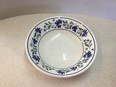 1 x #churchill #'salzburg' #cereal/fruit dish - 6 inches diameter,  View more on the LINK: http://www.zeppy.io/product/gb/2/301945898067/