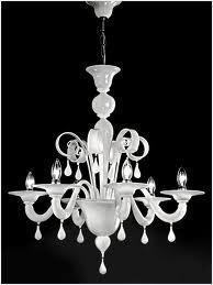 modern white chandeliers - chic