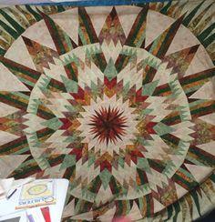 Amazon Star, Quiltworx.com, Made by Teresa Hudson.