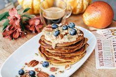 zdrave ranajky Cottage Cheese, Pancakes, Breakfast, Food, Morning Coffee, Essen, Pancake, Meals, Yemek