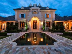 FRENCH PROVINCIAL IN VERO BEACH FLORIDA | LUXURY HOMES