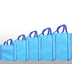 28*13*33cm orange no printing non woven fabric Tote Shopping Bag