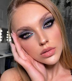 Neutral Makeup, Dark Makeup, Glam Makeup, Makeup Inspo, Makeup Art, Makeup Inspiration, Beauty Makeup, Eye Makeup, Glamorous Makeup