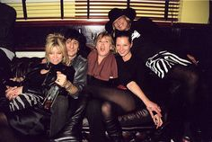 Jo Wood, Ronnie Wood, Marianne Faithfull, Kate Moss, Anita Pallenberg    January 11, 2009