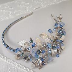 22 Trendy Wedding Hairstyles With Headband Boho Beautiful Bridal Crown, Bridal Tiara, Headpiece Wedding, Bridal Headpieces, Boho Wedding, Wedding Blue, Wedding Veils, Trendy Wedding, Hair Jewelry