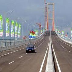 Suramadu bridge, east java, indonesia