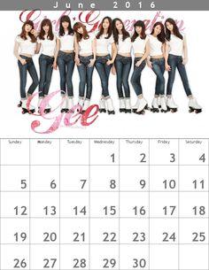 少女時代カレンダー618×800 ✐ 1606 http://buff.ly/1WYLKXW #snsd #snsdcalendar