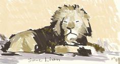 save Lion