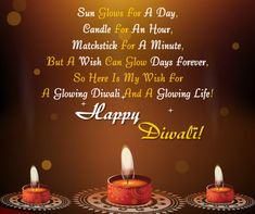 Send this bright and glowing Diwali wish to all you know. Free online Wishes For A Glowing Diwali ecards on Diwali Diwali Wishes In Hindi, Happy Diwali Wishes Images, Diwali Wishes Quotes, Happy Diwali 2019, Happy Diwali Quotes, Happy Diwali Pictures, Diwali Photos, Happy Dhanteras Wishes, Diwali Status
