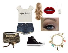 starbucks by shaunatamplen on Polyvore featuring Wet Seal, rag & bone/JEAN, Converse, BKE and claire's