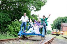 Kindergeburtstag mit Draisine und Minigolf- erlebnisbahn.de