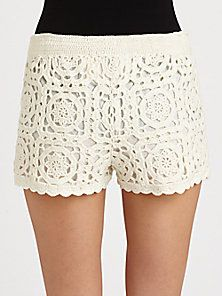 Joie - Carmelo Crochet Shorts