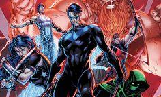 Titãs   DC Comics Revelou Primeiras Imagens da Nova Revista