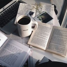 Coffee Home Office Monday Morning Motivation Businesswoman Home Office Working How To Stay Productive When Working From Home Book And Coffee, Coffee Cup, Coffee Reading, Drink Coffee, Coffee Music, Kona Coffee, Coffee Latte, Coffee Time, Tea Cup