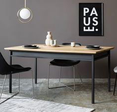 BOX stół w stylu bauhaus polski design Mebloscenka Bauhaus, Cozy House, Office Desk, Loft, Furniture, Design, Home Decor, House Ideas, Living Room
