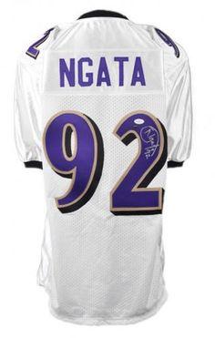 e4e50867d Haloti Ngata Autographed Jersey - JSA - Sports Memorabilia  HalotiNgata   Ravens  SportsMemorabilia