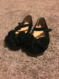 91f5c6c19215 Gymboree Dress Shoes Girls Black Size 7  fashion  clothing  shoes   accessories