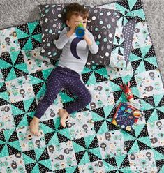 40 Adorable Quilts for Kids