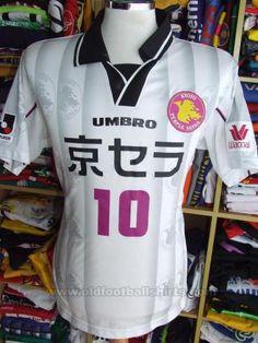Kyoto Sanga FC Fora camisa de futebol 1999 - 2000