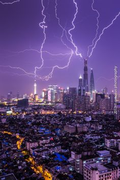 Shanghai Tower tops out with lightning strikes