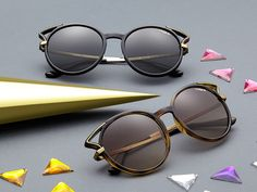 4c8e458f36 Choose a unique look with a little edge in the new Vogue Eyewear V-Edge