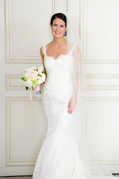 Alvina Valenta Style #9153 Wedding Dress Size 2 - Nearly Newlywed Wedding Dress Shop -- love this silhouette