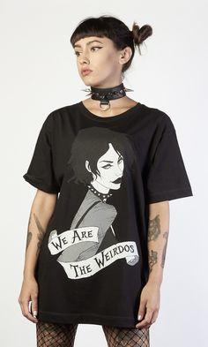 a81fb457c298 Nancy T-Shirt  disturbiaclothing  disturbia  goth  alien  goth  occult