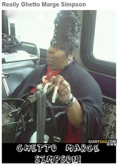 Ghetto Marge Simpson,  Click the link to view today's funniest pictures!
