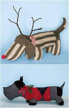 Christmas Sock Dog