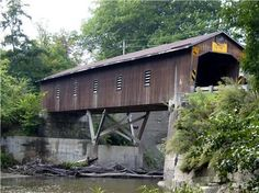 Ashtabula, Ohio covered bridge