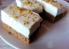 Diós szelet mascarponés krémmel | Timi receptje - Cookpad receptek Poppy Cake, Cheesecake, Dios, Cheese Cakes, Cheesecakes