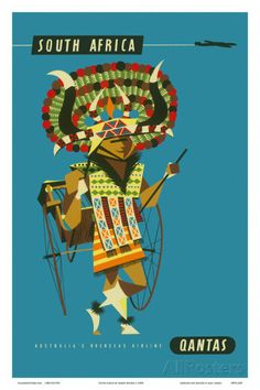 South Africa - African Native Costumed Dancer Taide tekijänä Harry Rogers AllPosters.fi-sivustossa