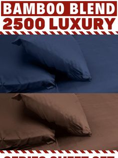 bamboo blend Discount Bedding, Sheet Sets, Bed Pillows, Bamboo, Feelings, Pillows