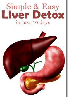 Liver Detox in just 10 days - Simple Liver Detox Tea. #liver_detox #natural_remedies #weightlossbeforeandafter
