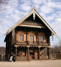 Izba on Pinterest | Russia, House and Russian Architecture