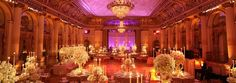 Wedding at New York's famous Plaza Hotel NYC
