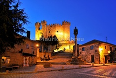 The medieval and historical castle of Penedono. Portugal