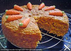 Möhrenkuchen ohne Fett