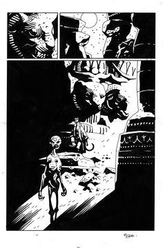 Makoma page Comic Art