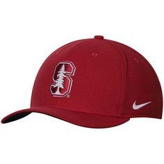 Stanford Cardinal Nike Swoosh Performance Flex Hat - Cardinal